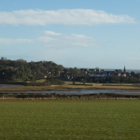 Alnmouth from the train.