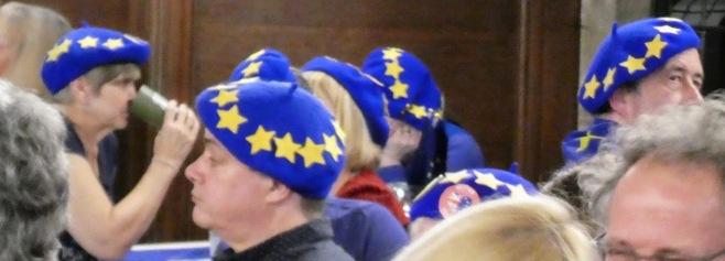 Europeans in conversation.