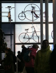 So many bicycles..