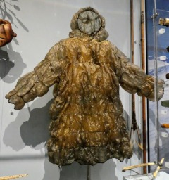 A pac-a-mac? Or an inuit parka made from seal gut?