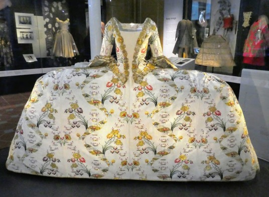 Court Mantua. British, 1750s