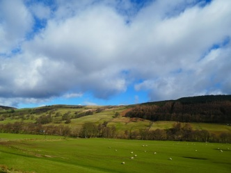 Nidderdale, between Lofthouse and Ramsgill.