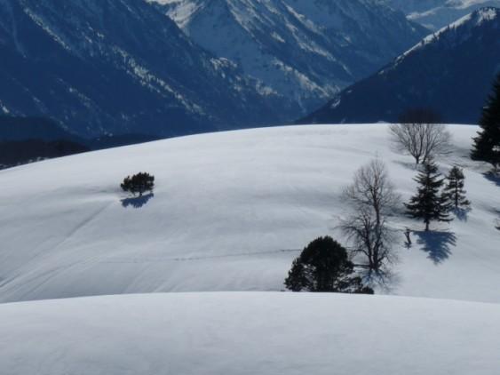 More pristine snow.
