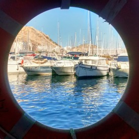 A trip round the harbour in Alicante.