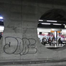 El Clot metro station, Barcelona.