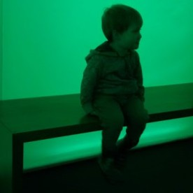 William in a light box at the Horniman Museum. Also available in blue, red, purple, yellow ...