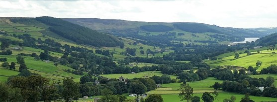 Nidderdale from Middlesmoor.