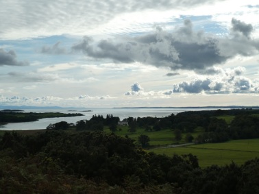 Looking towards the Fleet Firth...