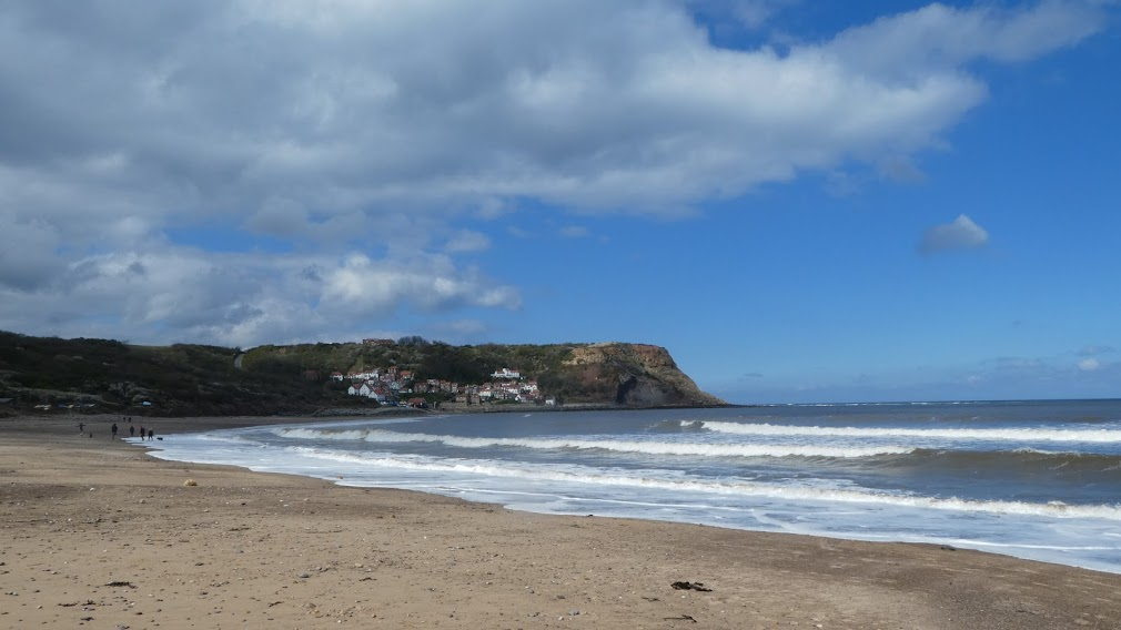 This is North Yorkshire, not France.  A surfer's sea?